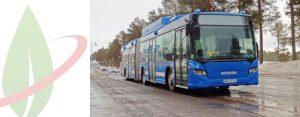 Scania France consegna gli autobus alimentati a gas naturale all'operatore francese RATP