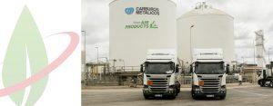 Spagna: HAM aggiunge veicoli GNL per il trasporto di gas criogenico