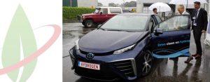 Consegnate la prima Toyota Mirai alimentate a idrogeno in Belgio