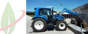 Una stagione ricca di impegni e di successi per il prototipo del trattore New Holland T6.180 Methane Power