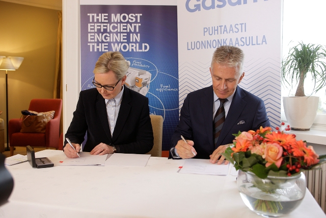 Wärtsilä and Gasum cooperation