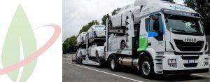 Iveco consegna il primo Nuovo Stralis NP per il trasporto autovetture