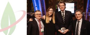 "IVECO Stralis NP, il primo tir alimentato a gas naturale per lunghe percorrenze, eletto ""Progetto dell'anno"" in occasione dell'European Gas Awards Excellence 2017"