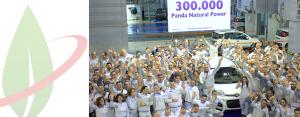 Panda record: la versione Natural Power prodotta in 300 mila unità a Pomigliano