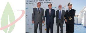 Presentato in Spagna il primo motore a gas naturale per navi da trasporto passeggeri