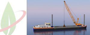 Paesi Bassi: in costruzione una nave gru alimentata a GNL