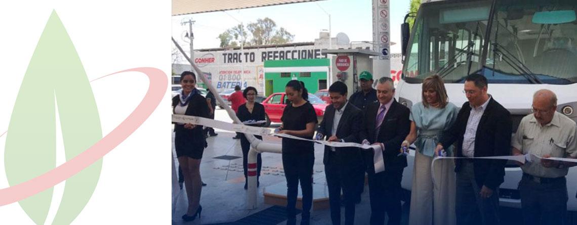 Messico: la prima stazione di rifornimento GNC apre a Aguascalientes