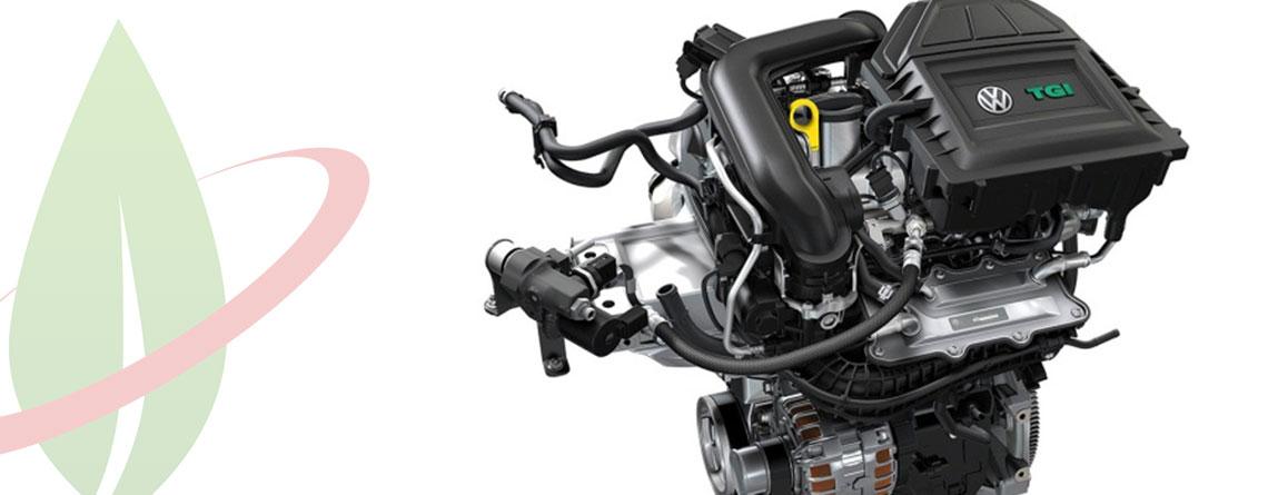 Volkswagen svela l'innovativo propulsore turbo 1.0 per alimentazione a gas naturale