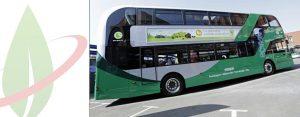 Nottingham svela la più grande flotta di autobus a due piani alimentati a biogas
