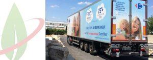 ENGIE apre una stazione di rifornimento di bio-GNC in Francia per servire la flotta di Carrefour