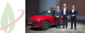 La nuova SEAT Arona sarà disponibile nella versione a gas naturale nel 2018