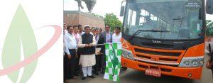 Tata Motors svela il primo autobus indiano a biometano