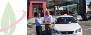 Spagna: società di noleggio auto acquista una nuova Seat TGi a gas naturale