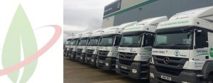 Operatore britannico mette alla prova veicoli per il trasporto merci alimentati a biogas
