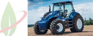 New Holland Agriculture presenta il concept di trattore alimentato a metano