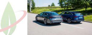 Audi A4 e A5 ora disponibili nelle versioni g-tron con e-gas