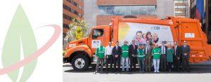 Bogotá mette alla prova i camion rifiuti a GNC