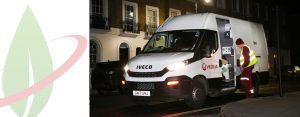 Gli Iveco Daily Natural Power si uniscono alla flotta di Veolia per pulire le strade di Londra