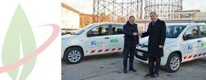 Il fornitore italiano di energia elettrica rinnova la propria flotta con le Fiat CNG