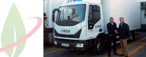 """L'azienda di logistica Murcia fa il suo ingresso nel settore """"green"""" con il nuovo Iveco a gas naturale"""