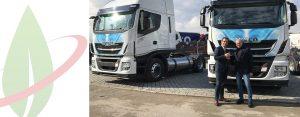 IVECO e pe.tra. confermano l'impegno comune per un trasporto sostenibile con una nuova fornitura di 50 Stralis NP