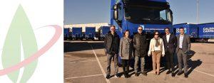Iveco contribuisce all'ampliamento della flotta sostenibile del gruppo Calsina Carre