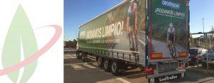 Spagna: il rivenditore di articoli sportivi prevede di ridurre le emissioni CO2 con i camion per il GNL