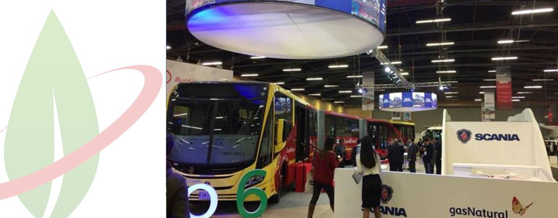 In Colombia presentato il primo autobus biarticolato alimentato a GNC del mondo
