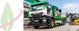 Il più grande fornitore indipendente di legname di Londra sceglie Iveco Stralis NP