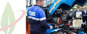 Inaugurata un'unità mobile di rifornimento GNC per veicoli agricoli nella Russia meridionale