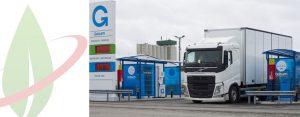 Prima ricarica GNL per il nuovo Volvo FH in Finlandia