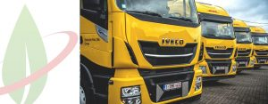 DHL sceglie i camion ecologici GNL per il trasporto su lunghe distanze