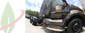 UPS investe 130 milioni di dollari in più in veicoli a gas naturale e in impianti di rifornimento
