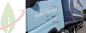 Il più grande operatore logistico britannico testa il camion Volvo a gas naturale
