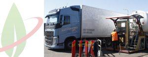 Svezia: HAM rifornisce i camion Volvo con il GNL