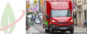 Arcese sceglie IVECO Daily NP per viaggiare nelle zone ULEZ di Londra 2019