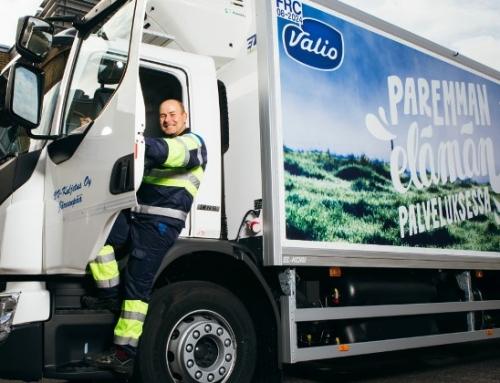 Il produttore caseario finlandese mette su strada il primo veicolo per consegne a biometano