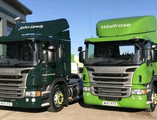 Il commercio al dettaglio del Regno Unito convertirà tutta la flotta diesel al gas naturale rinnovabile