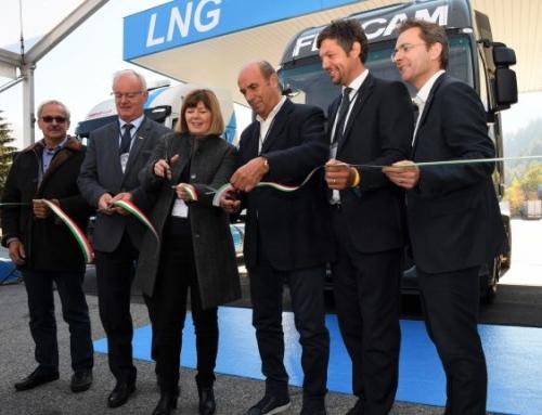 Entra in funzione la prima stazione di GNL in Alto Adige