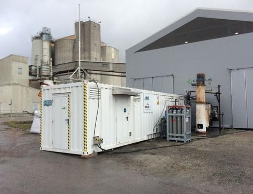 Svezia: impianto di produzione di gas naturale di sintesi a partire dai rifiuti di legno