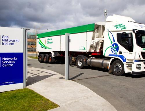Le flotte logistiche irlandesi chiedono al governo di dare priorità all'apertura della stazione di GNC