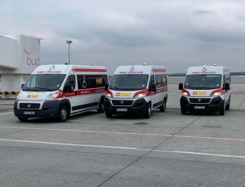 L'aeroporto di Budapest la propria flotta sostenibile con nuove ambulanze Fiat a CNG