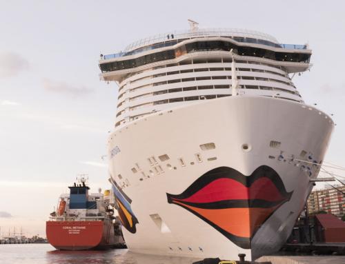 Tenerife: Coral Methane rifornisce di GNL per la prima volta la nave da crociera AIDAnova