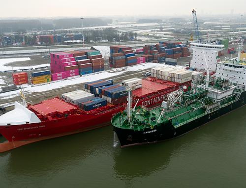 Shell rifornisce di carburante la prima nave alimentata a GNL della Containerships a Rotterdam