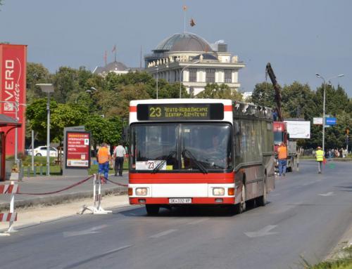 La EBRD aiuta la capitale della Macedonia ad acquisire nuovi autobus a gas naturale