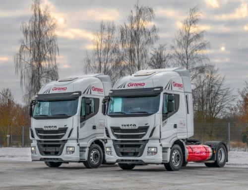L'azienda logistica europea sperimenta i camion Iveco Stralis NP per raggiungere gli obiettivi ecologici
