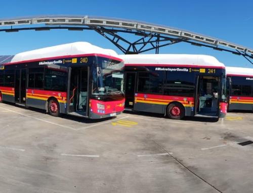 Spagna: quasi il 60% del parco autobus di Siviglia opera con il GNC