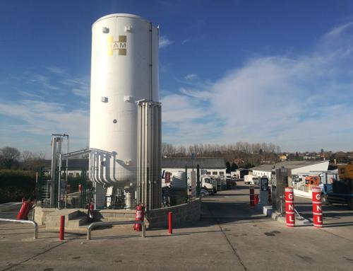 HAM apre la prima stazione di rifornimento di gas naturale nelle Asturie