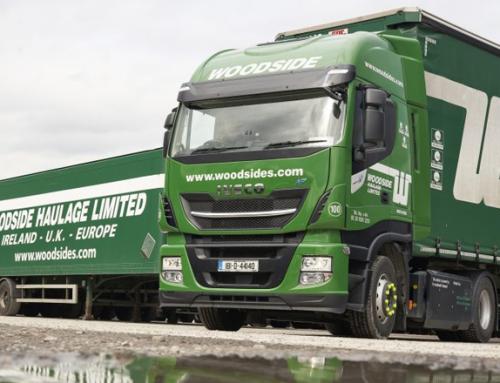 L'azienda di logistica irlandese aggiunge alla propria flotta un camion NP IVECO Stralis