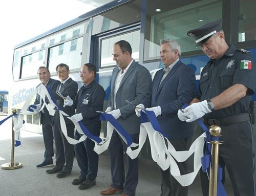Messico: 120 autobus Hyundai CNG entrano in funzione a Baja California